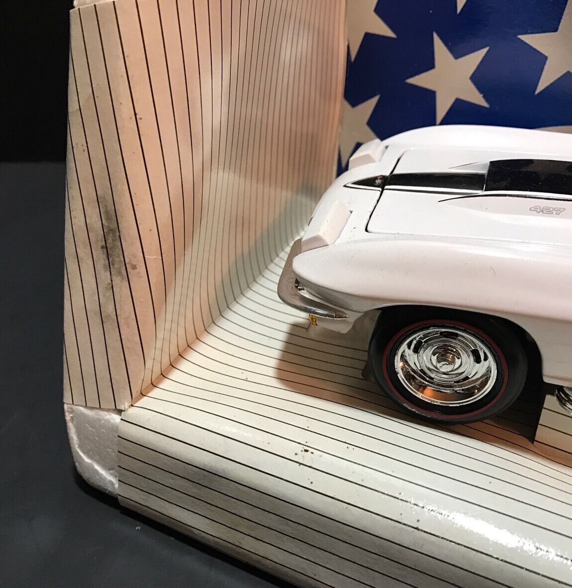 Ertl 1967 Chevrolet Corvette L-88 White 7403TO American American American Muscle Congreenible Chevy 2a761a