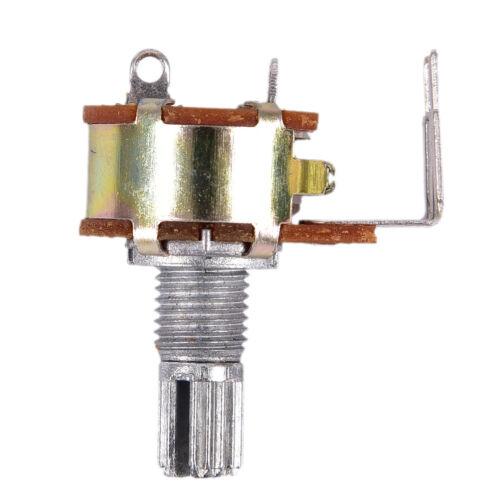 5PCS WH148 Single Potentiometer 500K Potentiometer With Fine B500K Switch PinD/&p