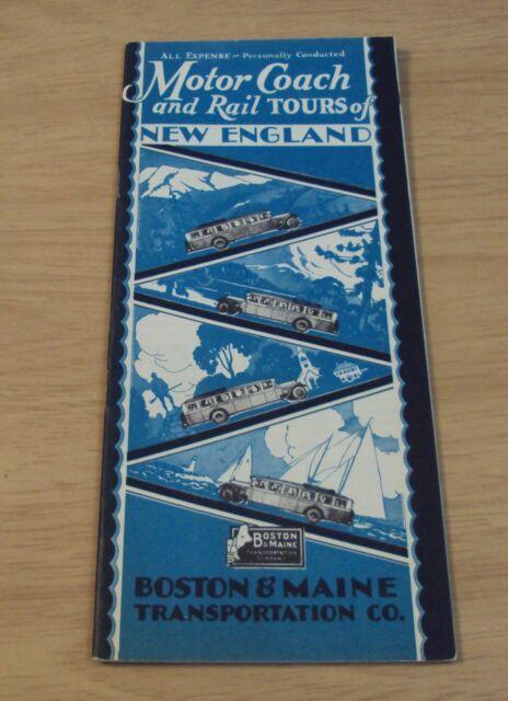 1929 Boston  U0026 Maine Transportation Co