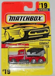 MATCHBOX-MOVING-PARTS-CEMENT-TRUCK-19-RED