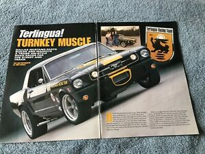 Details about Dallas Mustang Parts Terlingua 1966 Ford Mustang Info Article