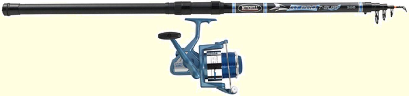 13 ft Mitchell Travel GT PRO  Telescopic Sea fishing Rod & Reel  Beachcaster