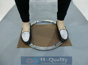 HQ 350MM 14INCH OD Solid Smooth Stainless Steel Turntable Lazy