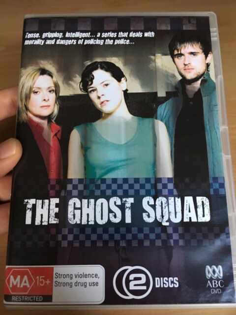 The Ghost Squad (DVD, ABC, 2-Disc Set) Aus Region 4, As New, Fast Free Post