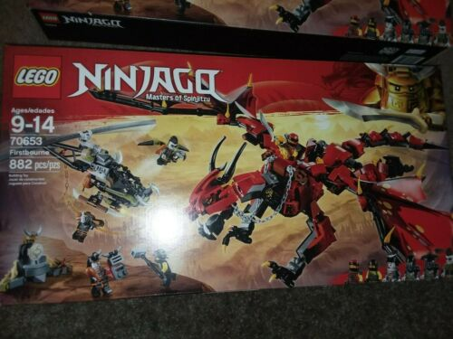 SEALED LEGO set 70653 NINJAGO FIRSTBOURNE MASTERS OF SPINJITZU NINJAS MISB NEW
