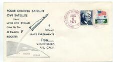 1971 Polar Orbiting Satellite OV1 Twins Atlas F Booster Vandenberg AFB USA SAT