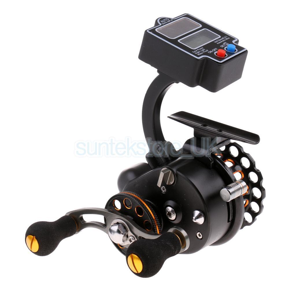 4+1BB Full Metal Fly Ice Reel Raft Fishing Fishing Fishing Reel with Line Counter, L/R Hand e3f19a