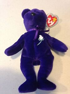 dae8894701d PRINCESS DIANA TY BEANIE BABY 1ST EDITION PVC CHINA NO SPACE MINT ...