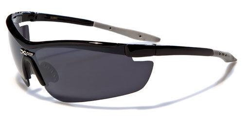Nuevo Para Hombre Semi sin montura XLoop Wrap gafas de sol Ciclismo Conducción Negro XL0601