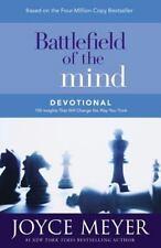 Battlefield of the Mind Devotional Christian Hardcover by Joyce Meyer FREE SHIP
