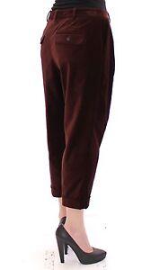 Gabbana Jeans 6 Dolce brun Pantalon Pantalon Us en Nwt chino raccourci 420 coton 40 It pour Fw0q8vZ