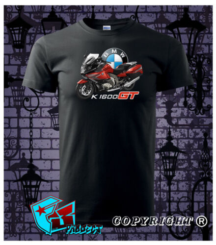 Limited Edition BMW Motorrad T-Shirt BMW K1600GT Black T-SHIRT Size M-3XL