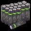 miniature 32 - Rechargeable Haute capacité AAA/AA Batteries Et 8-Way dock de chargement-Venom