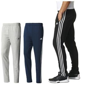 special selection of look good shoes sale highly coveted range of Details about Men's Adidas Stripe Slim Fit Joggers Tracksuit Jogging  Bottoms Track Sweat Pants