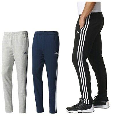 Operación posible Derecho Hablar con  Men's Adidas Stripe Slim Fit Joggers Tracksuit Jogging Bottoms Track Sweat  Pants | eBay