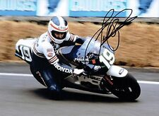 Fast Freddie SPENCER Autograph 2017 SIGNED 16x12 Photo C HONDA Rider AFTAL COA