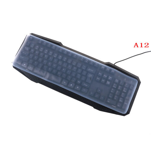 1PC colorful silicone universal desktop computer keyboard cover skin protectorSN