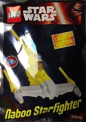 Lego Star Wars Naboo Starfighter Foil Pack 2016 UK Exclusive 911609 Polybag