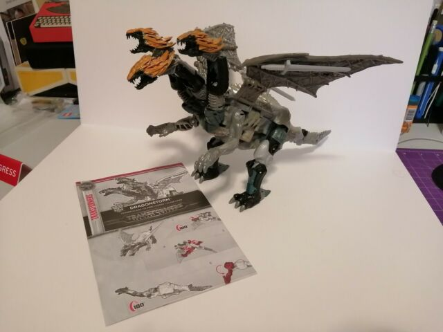 Transformers The Last Knight Leader Class Dragonstorm Combiner