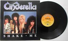 "CINDERELLA Shake Me  12"" Ps, 3 Tracks Inc Night Songs+Hell On Wheels, Verx 29"