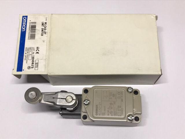 Omron WLCA2-2Y - Roller Lever Limit Switch - WLCA2 NO NC