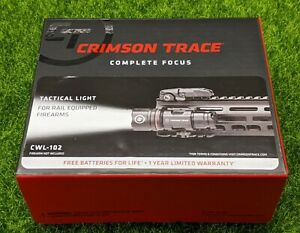 Crimson Trace Long Gun Rail-Attached LED Tactical Light + Remote 500lum  CWL-102