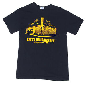 KATZ-039-S-DELICATESSEN-NEW-YORK-DELI-RESTAURANT-NYC-Men-039-s-T-Shirt-Food-Tee-Small