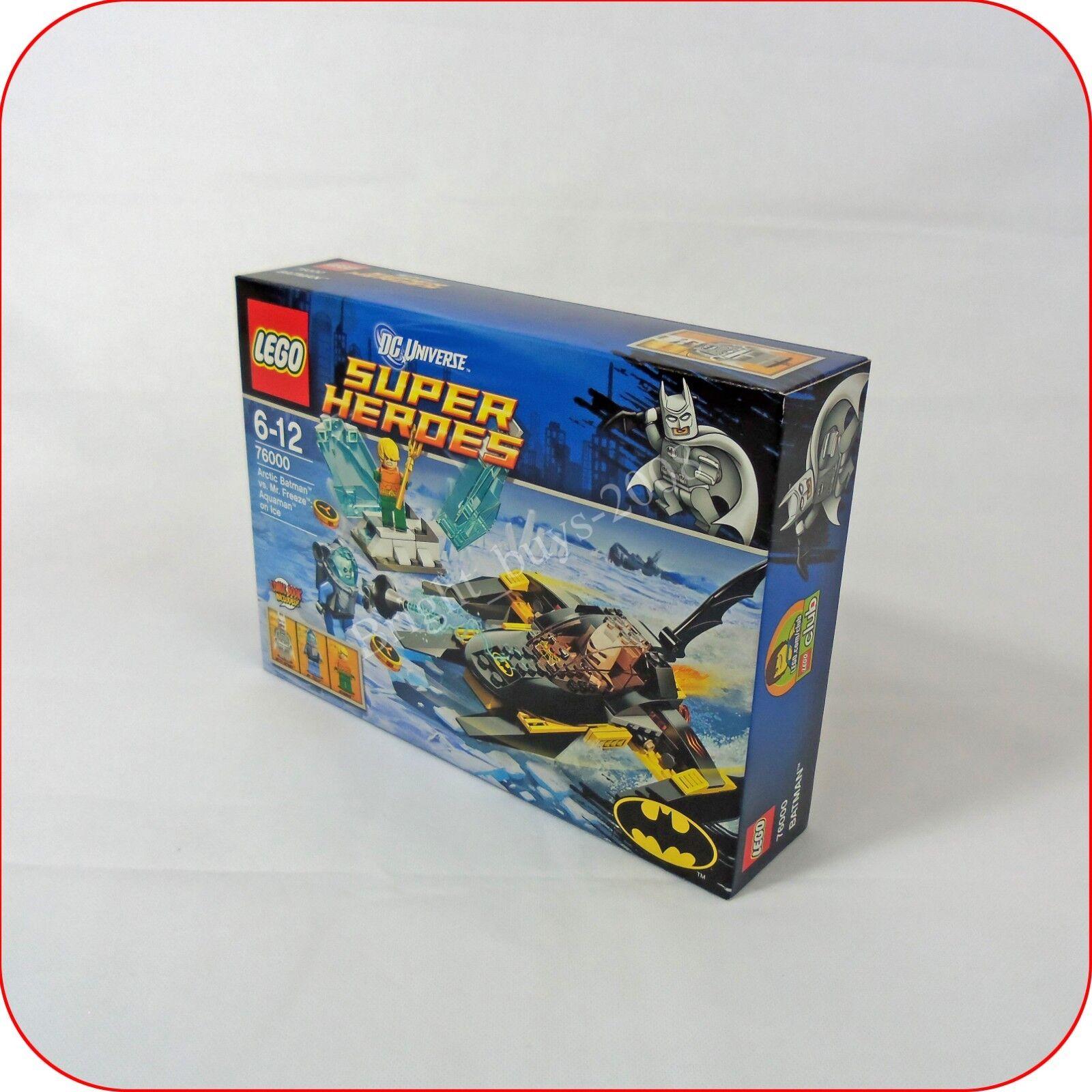 Lego 76000 Arctic Batman vs. Mr Freeze DC Superheros NEW MISB