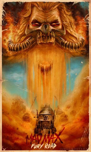 "Mad Max Fury Road Movie Silk Poster 36/""x24/"" Art Wall Decor 035"