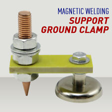 Magnetic Metal Welding Magnet Head Welding Support Ground Clamp Without Tail 1pc