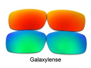 3ad98bf58d90 Image is loading Galaxy-Replacement-Lenses-For-Oakley-Chainlink-Green-Red-
