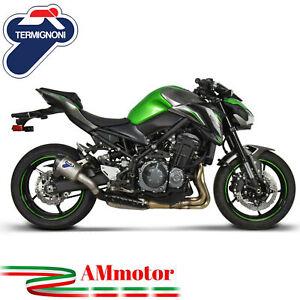 Exhaust-Kawasaki-Z-900-2019-19-Termignoni-Motorcycle-Silencer-Relevance-Titanium
