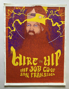 JOHN-THOMPSON-034-Hire-the-Hip-034-1967-ASTRO-POSTERS-Psychedelic-RARE-Poster-HIppie