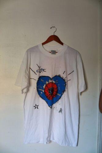The Cure Concert Tour T Shirt Vintage Summer 1992