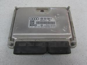 Electronic Control Module >> Details About 06 Audi A8 Engine Electronic Control Module Ecm Computer 4 2l 4 2 4e0 910 560 P
