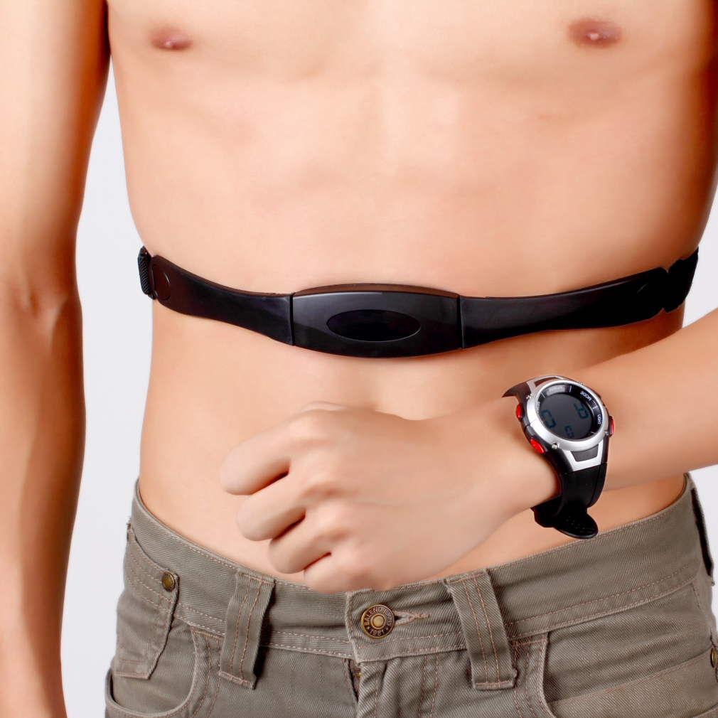 Popular Favor Waterproof Heart Rate Monitor Wireless Chest Strap Sport Watch MA