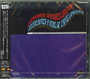 YOUNG-HOLT-UNLIMITED-JUST-A-MELODY-JAPAN-CD-Ltd-Ed-D73