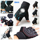 Women Men Gym Body Building Training Fitness Gloves Sport Weightlifting Exercise
