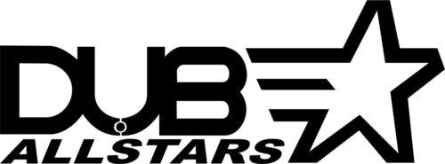 DUB ALLSTARS Surf Car Window Van JDM VW VAG EURO Vinyl Decal Sticker Skate