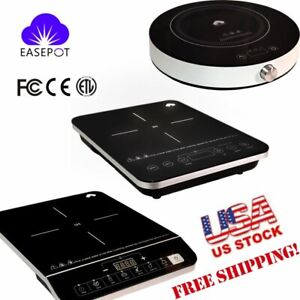 EASEPOT Portable1800W Induction Cooktop Countertop Single Cooker Burner Stove