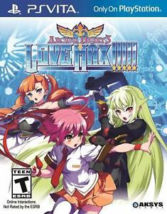 Arcana Heart 3: Love Max (Sony PlayStation Vita, 2014) Brand new.