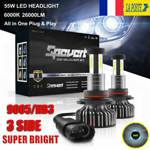360-110W-9005-HB3-30000LM-Voiture-LED-Ampoules-Phare-Feux-Lampe-Kit-Xenon-6000K