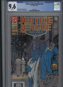 Justice-League-America-54-CGC-9-6-of-1991-Giffen-DeMatteis