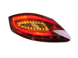Porsche Boxster 987 Cayman Red / Clear 981 style LED Tail Lights