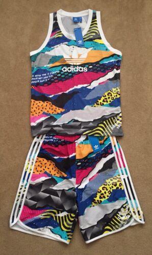 Teorado La Adidas Ltd Casual y Aop Top Gym Tank Set Ed Shorts Nuevo Originals AEFnqRwxfq