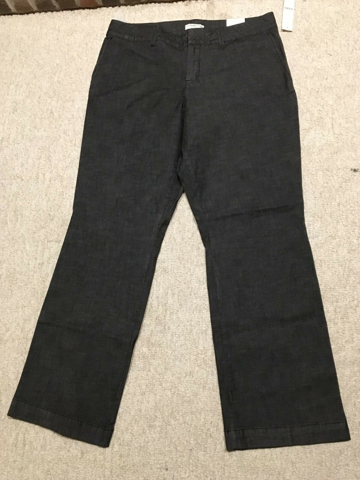 NEW COLDWATER CREEK Women's Misses 16 JEANS Natural Fit Boot Cut Trouser Denim