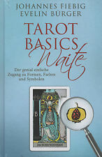 TAROT BASICS WAITE - Johannes Fiebig & Evelin Bürger BUCH - NEU