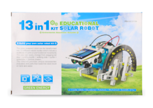Christmas Gift 13 in 1 Building Toys Stem Solar Robot Coding Science Kit Toy