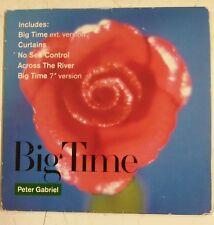 Peter Gabriel Big Time Cd-Single UK original 1987 Portada cartón gatefold