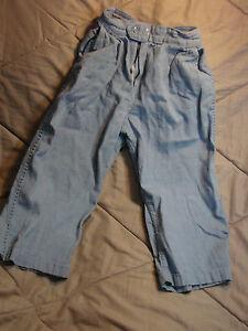 Vintage-50s-Childs-Boys-Light-Denim-Pants-Elastic-SEARS-ROEBUCK-4